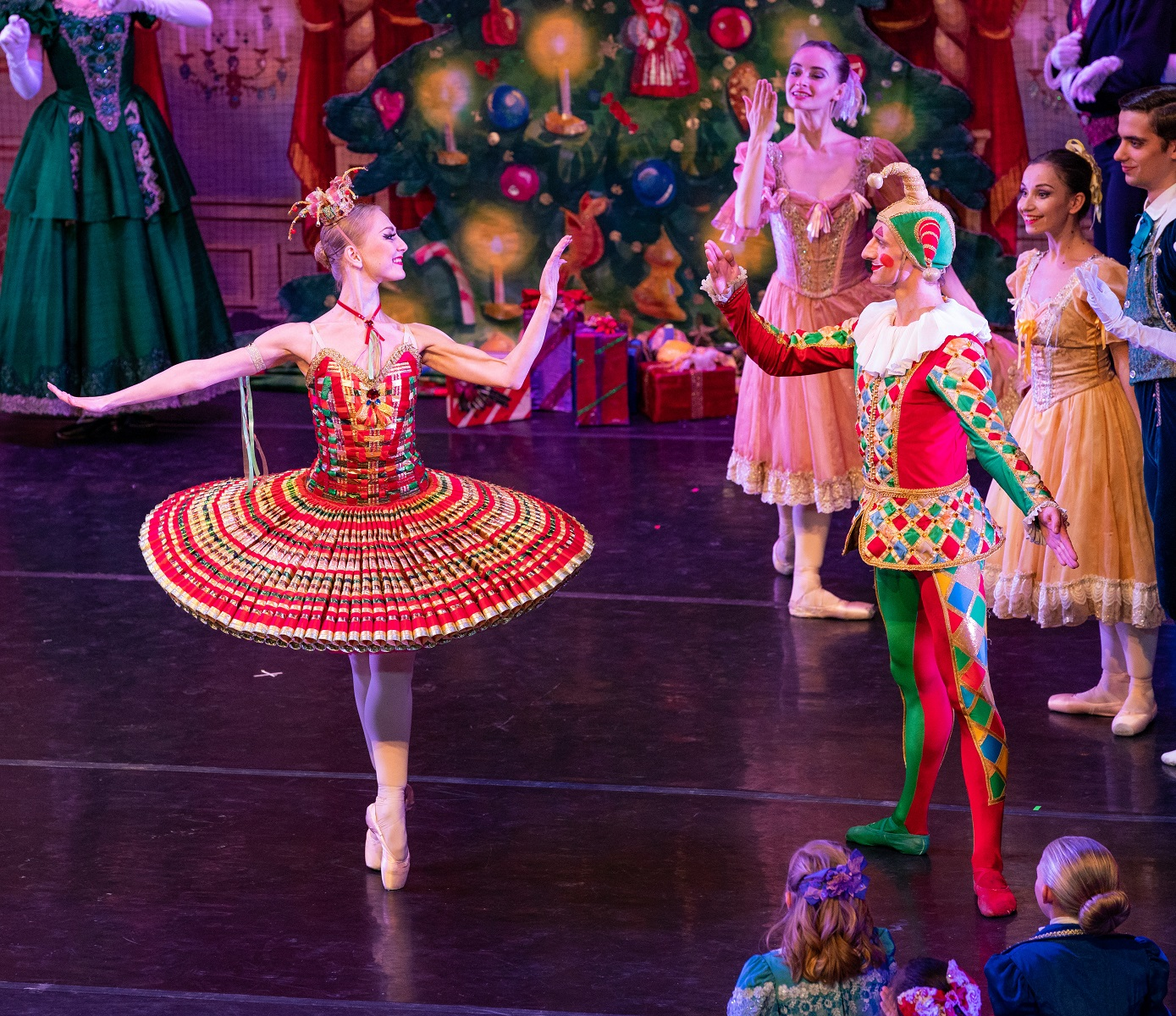 Moscow Ballet's Kissy and Harlequinn Dolls