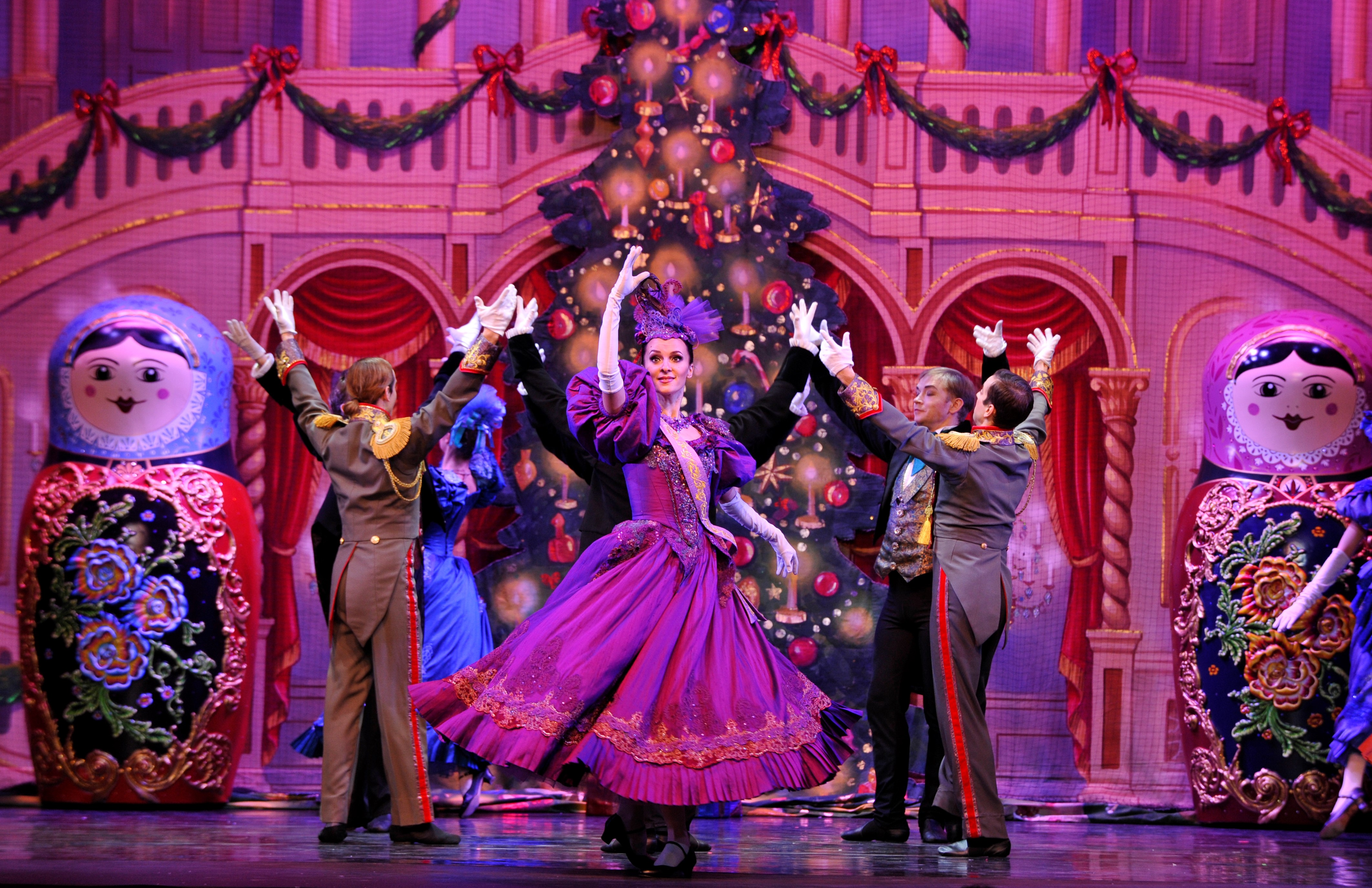 Partying with Nesting Dolls in Moscow Ballet's Great Russian Nutcracker