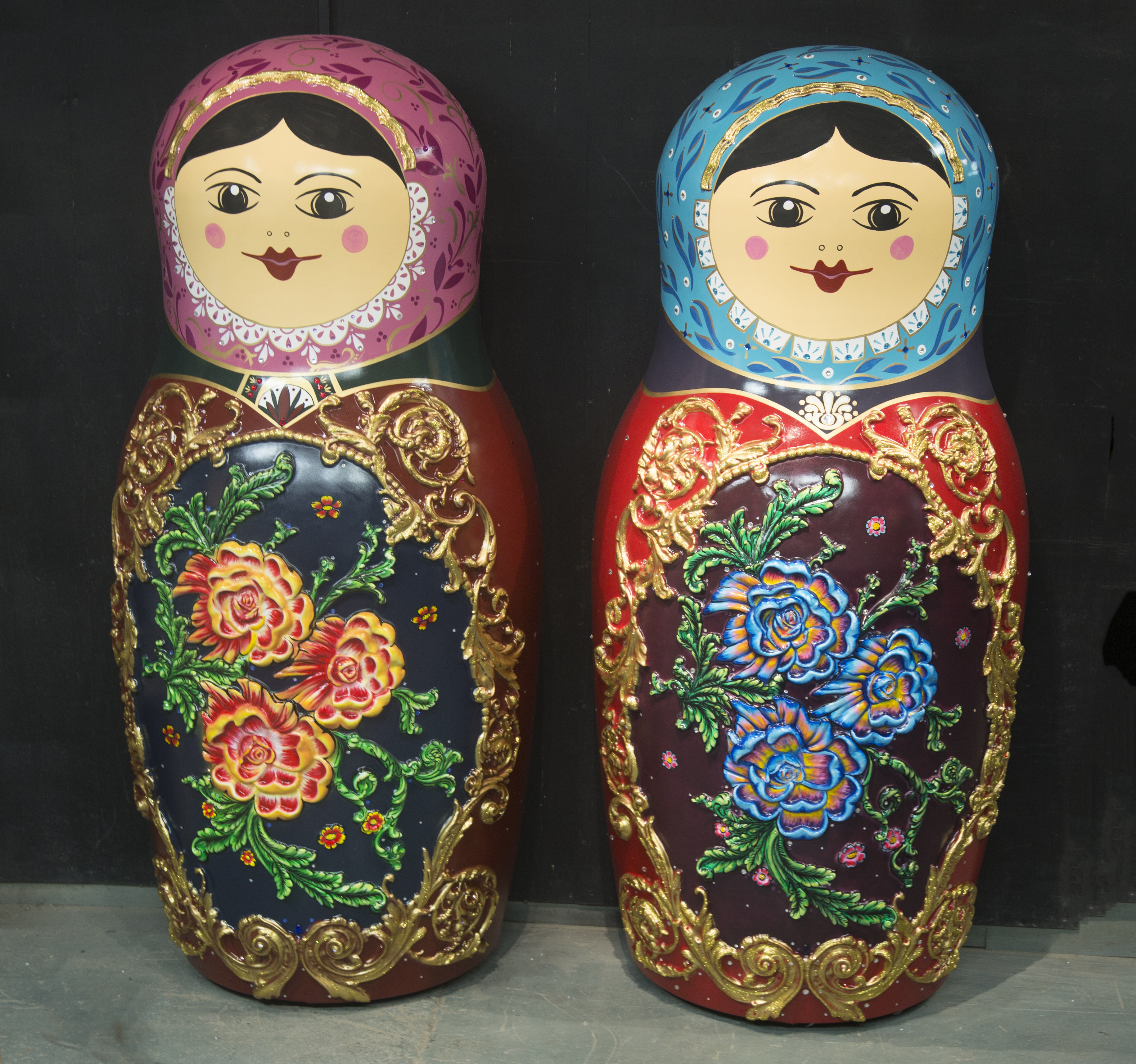 See these life-size Matryoshka Dolls in Moscow Ballet's Great Russian Nutcracker