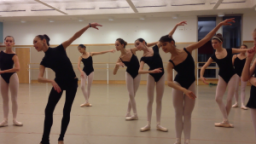 Students audition for The Great Russian Nutcracker