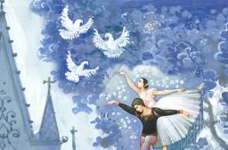 "Moscow Ballet features the ""Dove of Peace"""