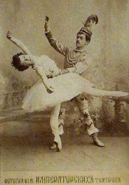 Imperial Ballet's original production of The Nutcracker, circa 1900.