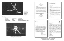 Glasnost program from 1988 tour pg. 2